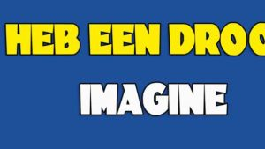 I have a dream. actie.