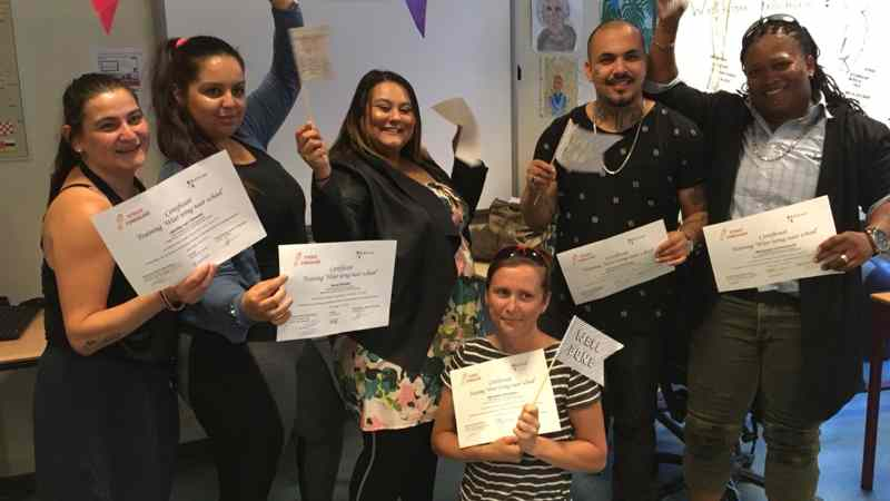 Certificaatuitreiking Educatieproject