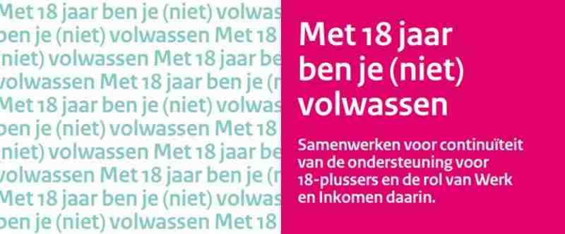 Stichting Zwerfjongeren Nederland (SZN): Slechts een derde gemeentelijke Werk & Inkomen heeft beleidsplan 18-/18+