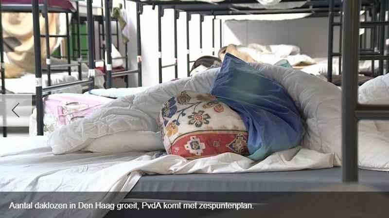 PvdA kraakt daklozenbeleid Den Haag en komt met eigen plan