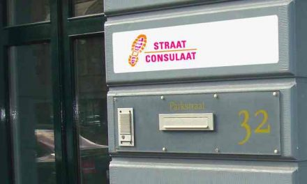 Straat Consulaat Kantoor gesloten i.v.m. Coronacrisis
