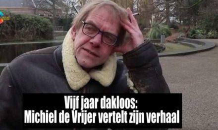 Cineac: Michiel de Vrijer vertelt over vijf jaar dakloos zijn