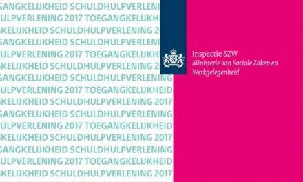 Rapport: Toegankelijkheid schuldhulpverlening 2017