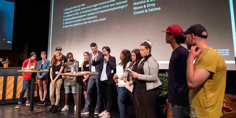 """Achterban jongeren werken mee aan de conferentie """"de Basis op Orde"""""""