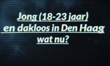 Informatiefilmpje voor jongeren die dakloos worden in Den Haag