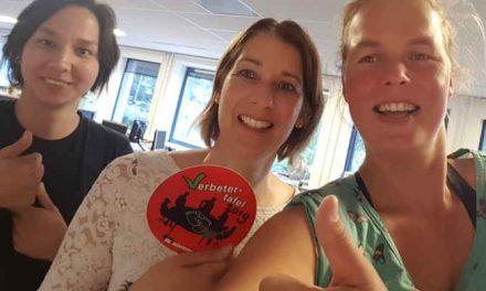 Leger des Heils/Jongerenwoningen ontvangt opnieuw de verbetersticker!