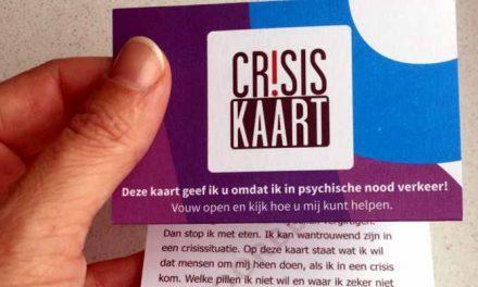 Crisiskaart voor als het op straat misgaat