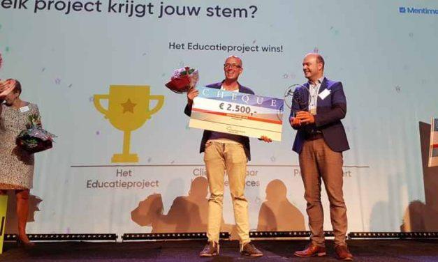 Het educatieproject wint de Herstelaward