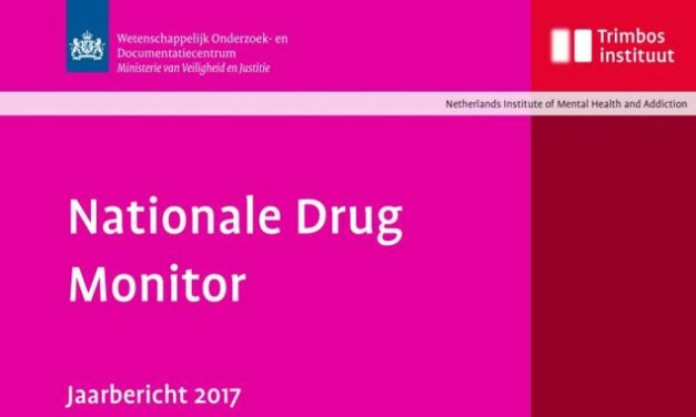 Trimbos Jaarbericht Nationale Drug Monitor 2017