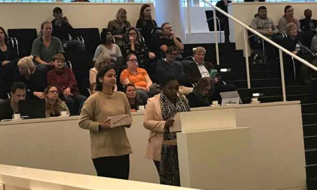 Inspreek tekst Fatima voor Haagse Gemeenteraad november 2018