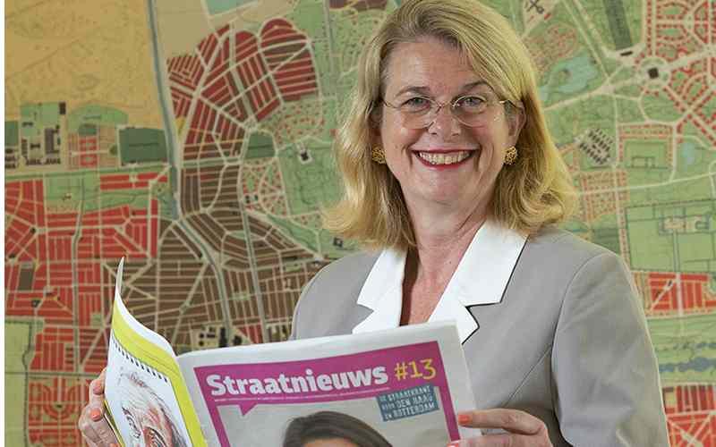 Burgemeester Krikke beschermvrouwe Straatnieuws