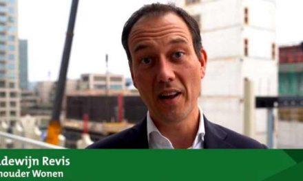 Wethouder Boudewijn Revis: veel nieuwe woningen voor verschillende doelgroepen in komende jaren