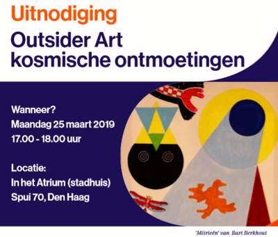 Uitnodiging: Outsider Art kosmische ontmoetingen