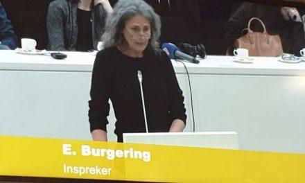 Inspreek tekst Elly Burgering bij vergadering woonagenda 2019 Den Haag