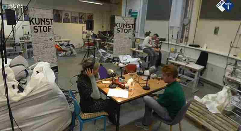 Ontwerper Bas Timmer helpt daklozen in de kou