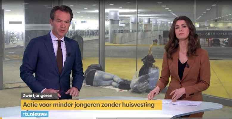 RTL Nieuws: actie voor minder jongeren zonder huisvesting