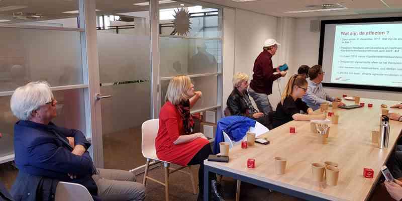 Wethouder organiseert een bezoek aan het succesvolle Werkplein in Dordrecht