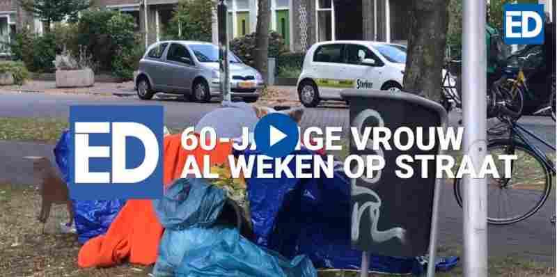 Moedeloos wachten tot het echt fout gaat met 60-jarige dakloze in Eindhoven
