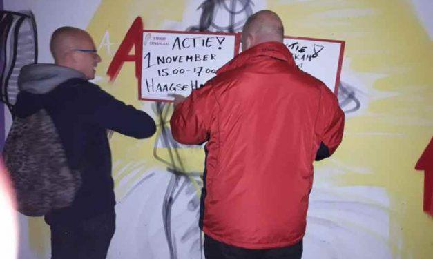 Poster actie in beeld