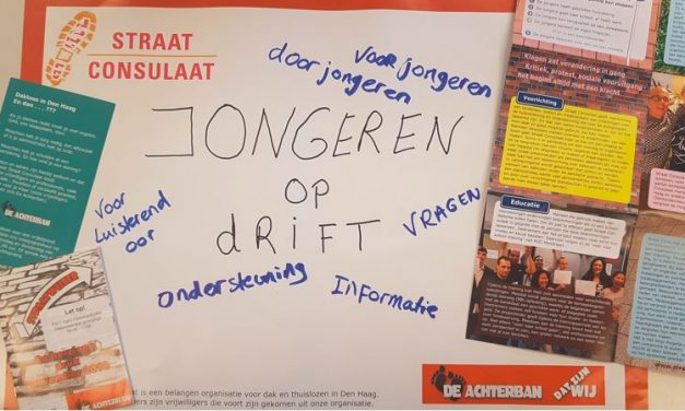 Vrijwilligers Spreekuur 'Jongeren op Drift' gezocht