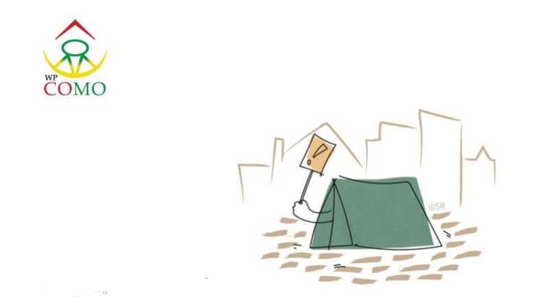 """Dakloosheid beëindigen vraagt om een verankering van mensenrechten! """"Niemand op straat"""""""