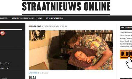 Opgeheven daklozenkrant gaat digitaal: de Bulgaarse Snezha is er blij mee