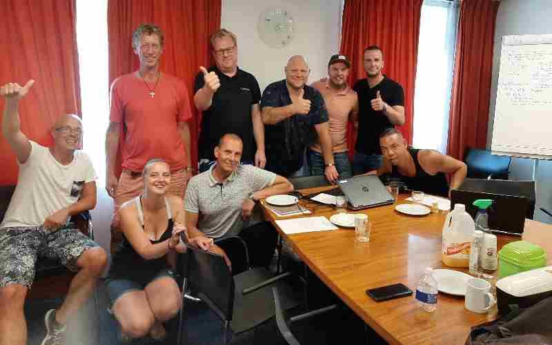 Achterban volwassen start met nieuwe groep vrijwilligers