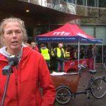 De actietekst van Joy Falkena op zaterdag 10 oktober 2020 tijdens de daklozendag