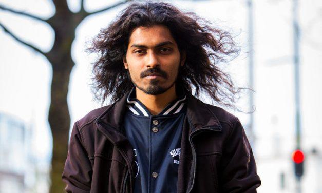 Het gezicht van de mensen op straat: Arjun