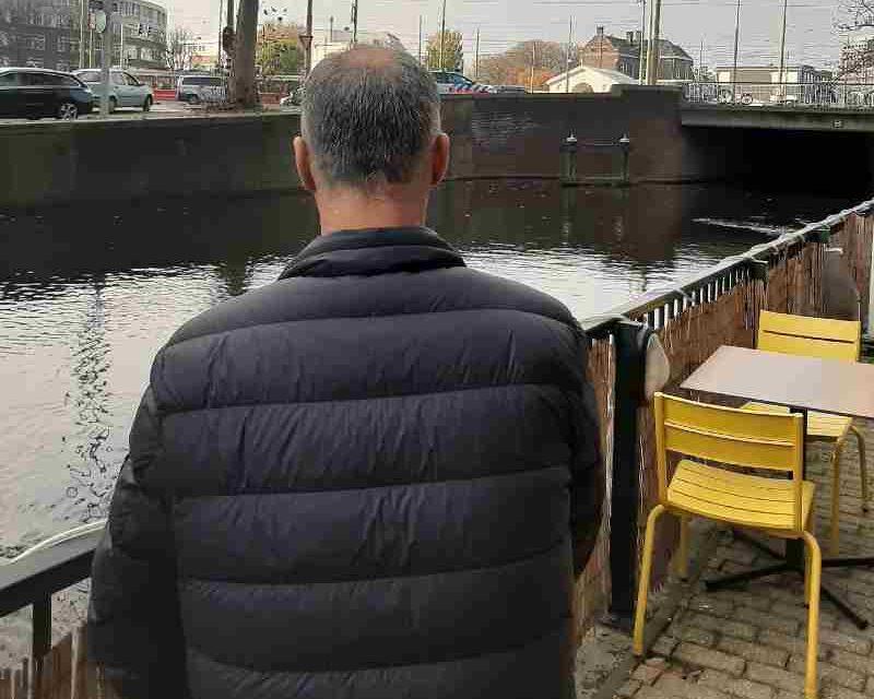 Het gezicht van de mensen op straat: Yussef