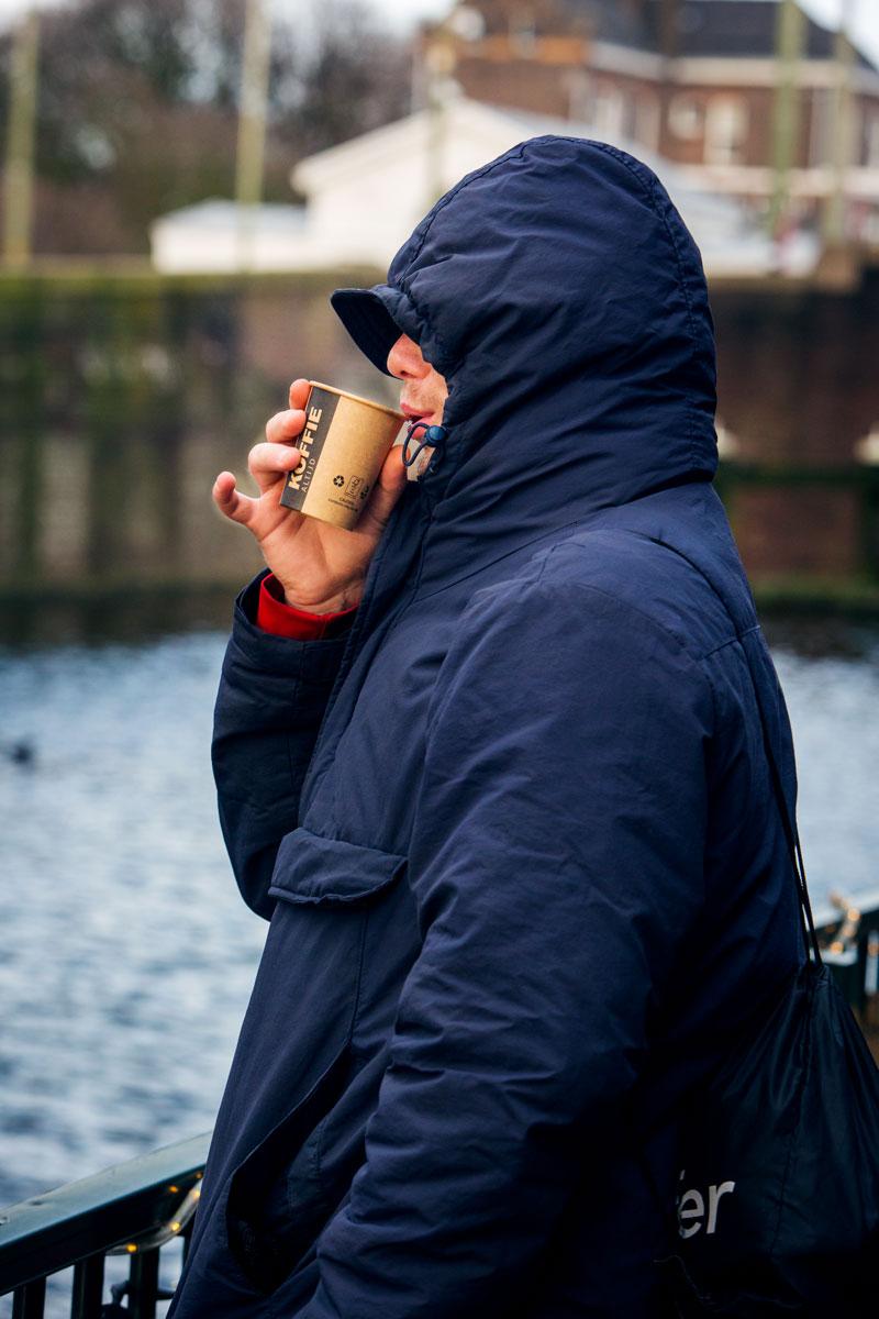 Het gezicht van daklozen in Den Haag: Matthias