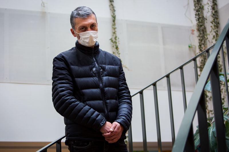 Het gezicht van de daklozen in Den Haag: George