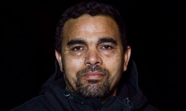 Het gezicht van de dakloze in Den Haag: Moes
