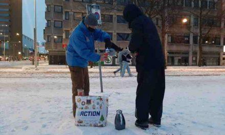 Daklozen die nu nog in levensbedreigende kou buiten zijn, willen niet naar binnen