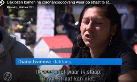 Hart van Nederland: Daklozen komen na coronanoodopvang weer op straat te staan: 'We vragen niet veel'