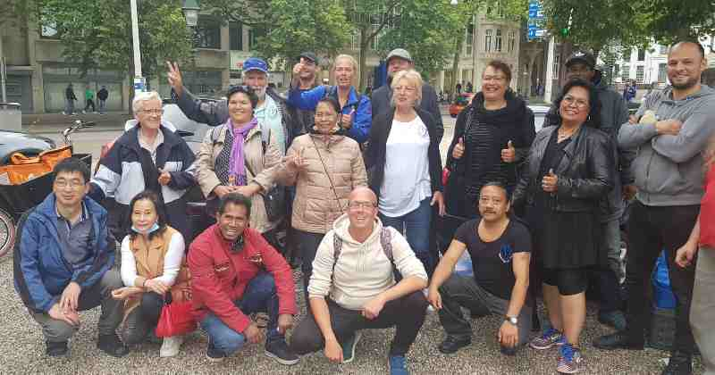 Auto buffet event: Een food event voor de minima en onze vrienden op straat