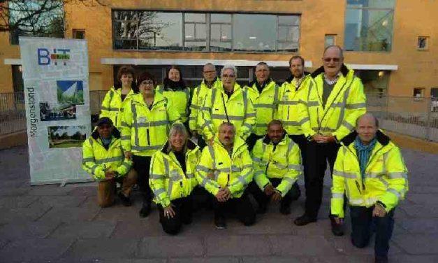 Straat Consulaat op bezoek bij buurt interventie team Morgenstond