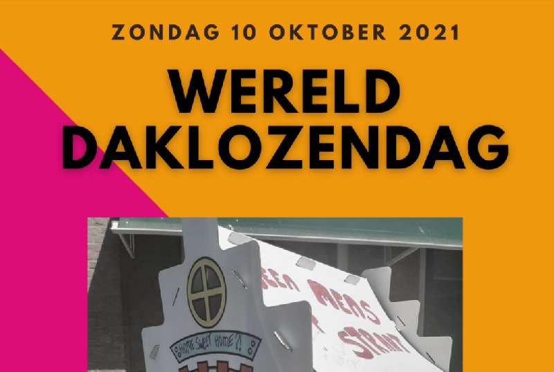 Uitnodiging lijsttrekkersdebat op internationale daklozendag 10 oktober 2021